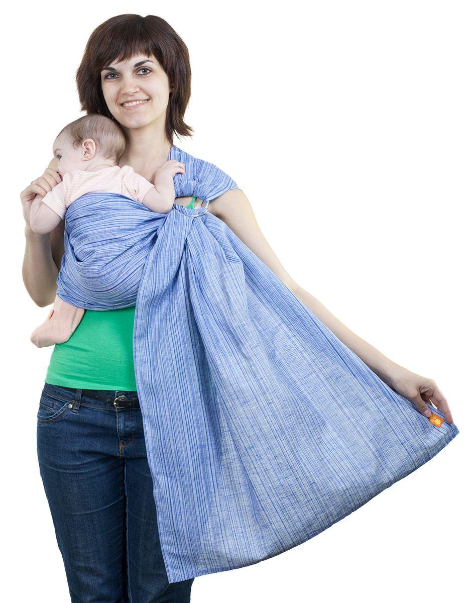 цены на Слинг Чудо-чадо Лино Коктейль голубой  в интернет-магазинах