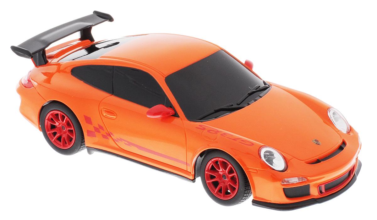 Rastar Радиоуправляемая модель Porsche 911 GT3 RS цвет оранжевый rastar радиоуправляемая модель bentley continental gt3