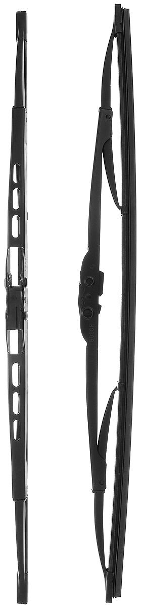 Щетка стеклоочистителя Bosch 450, каркасная, длина 45 см, 2 шт щетки стеклоочистителя bosch twin nkw 700mm 3 397 004 080