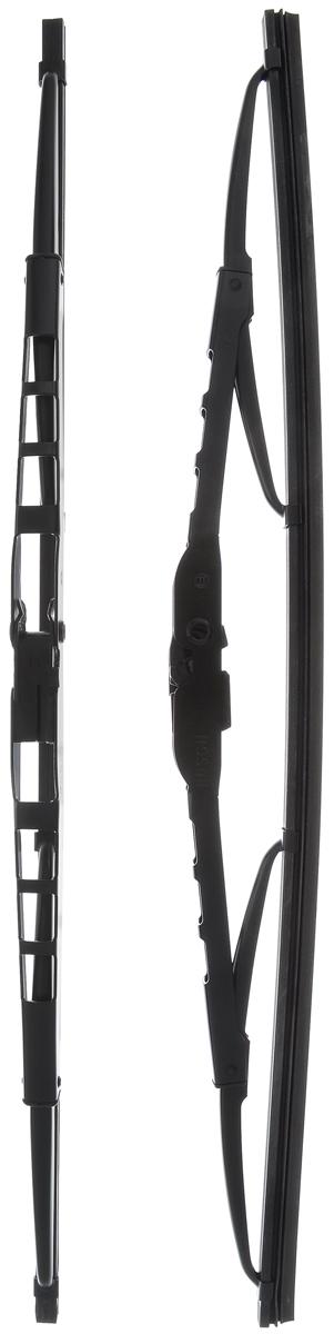 Щетка стеклоочистителя Bosch 400, каркасная, длина 40 см, 2 шт щетки стеклоочистителя bosch twin nkw 700mm 3 397 004 080