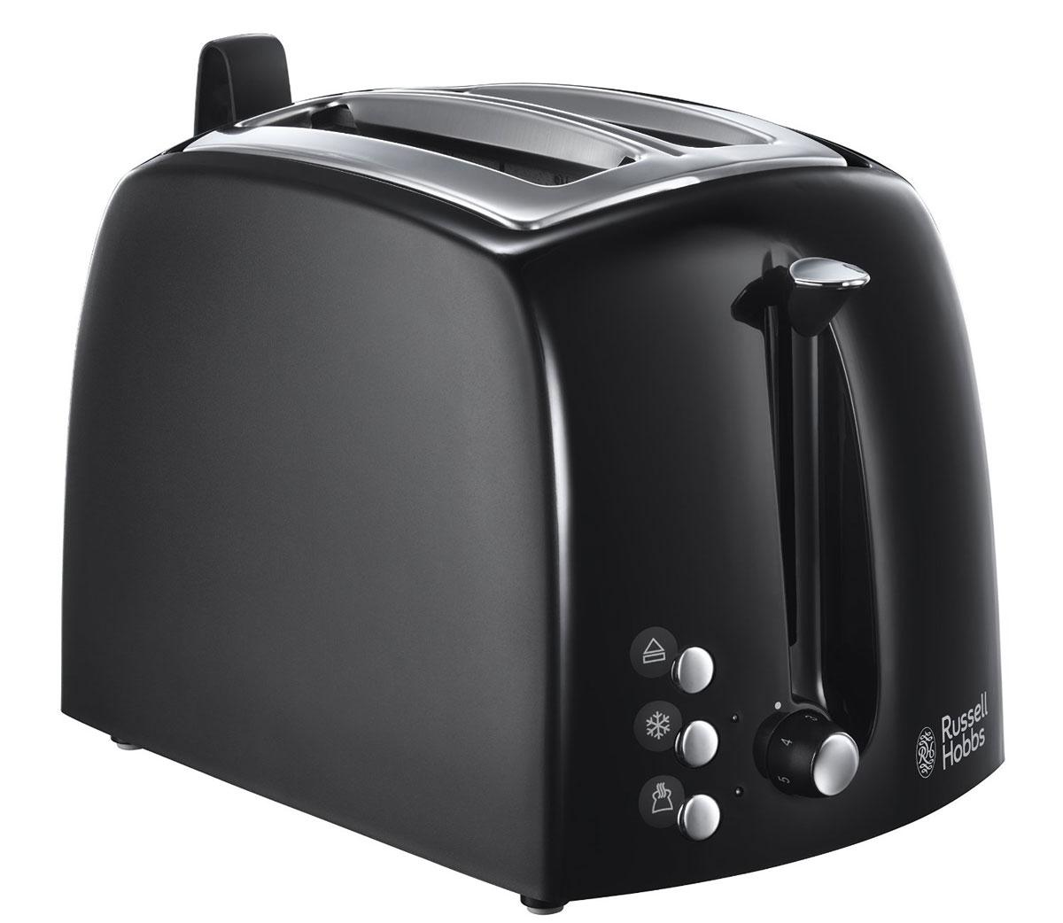 Russell Hobbs 22601-56, Black тостер электрический