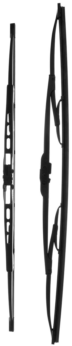 """Щетка стеклоочистителя Bosch """"551"""", каркасная, длина 50/55 см, 2 шт"""