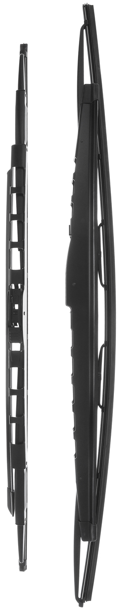 Щетка стеклоочистителя Bosch 359S, каркасная, со спойлером, длина 62,8/70,5 см, 2 шт щетки стеклоочистителя bosch twin nkw 700mm 3 397 004 080