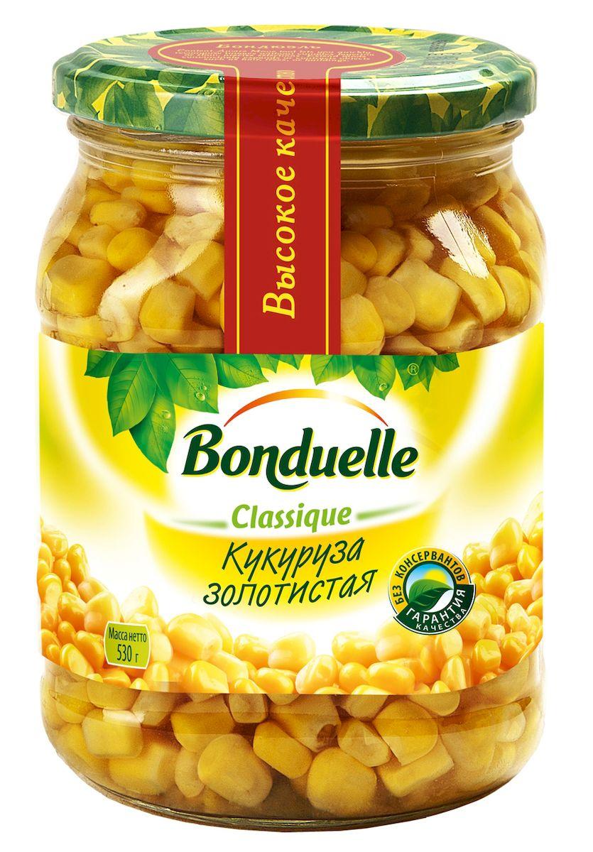 Bonduelle кукуруза золотистая в зернах, 530 г кукуруза bonduelle сладкая 340г