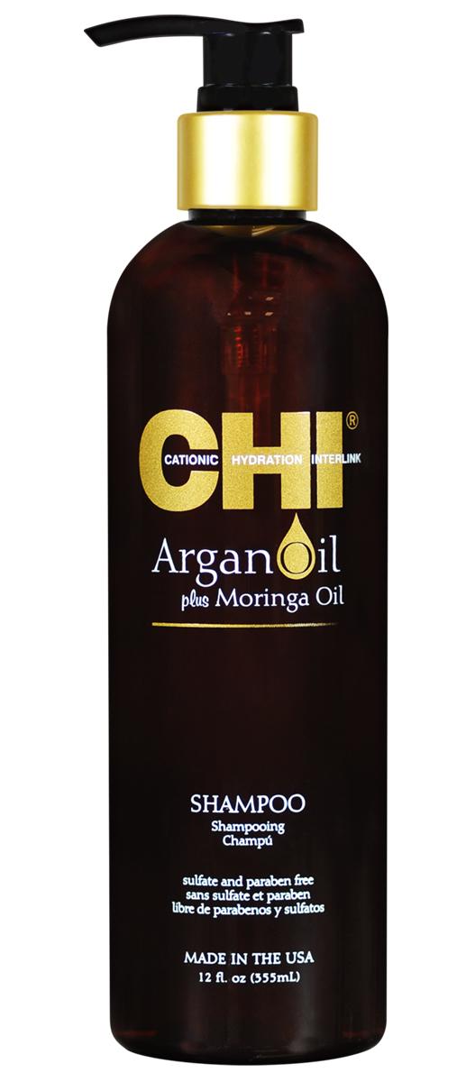 CHI Шампунь Argan Oil, 355мл цена