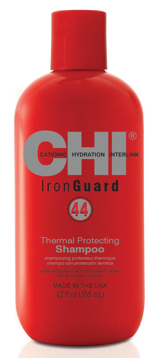 CHI Шампунь 44 Iron Guard, 355мл chi шампунь термозащита iron guard 625 мл
