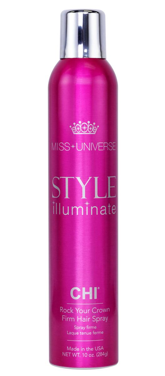 CHI Лак для волос сильной фиксации Miss Universe 284г chi лак для волос мисс вселенная сильной фиксации miss universe style illuminate 284 мл