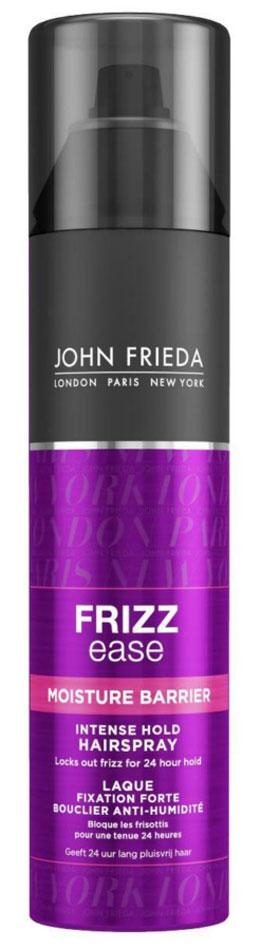 John Frieda Frizz-Ease Лак для волос сильной фиксации с защитой от влаги и атмосферных явлений, 250 мл john frieda шампунь для гладкости волос длительного действия против влажности frizz ease forever smooth 250 мл