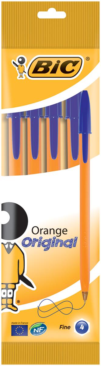 Bic Набор шариковых ручек Orange цвет чернил синий 4 шт