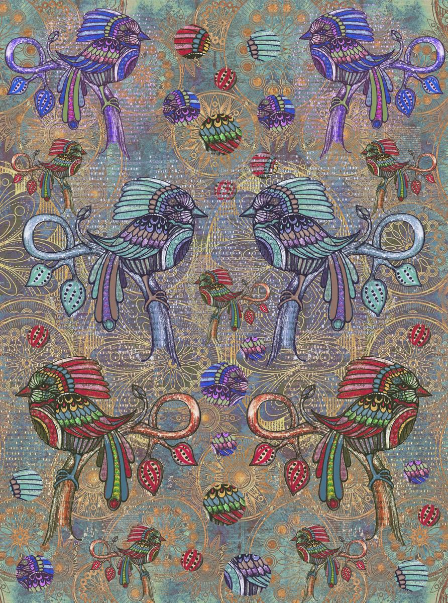 Рисовая бумага для декупажа Craft Premier Таинственный лес, А3