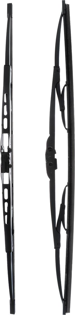 Щетка стеклоочистителя Bosch 500, каркасная, длина 50 см, 2 шт щетки стеклоочистителя bosch twin nkw 700mm 3 397 004 080