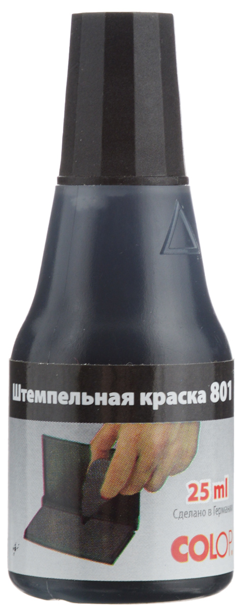 Colop Штемпельная краска цвет черный 25 мл