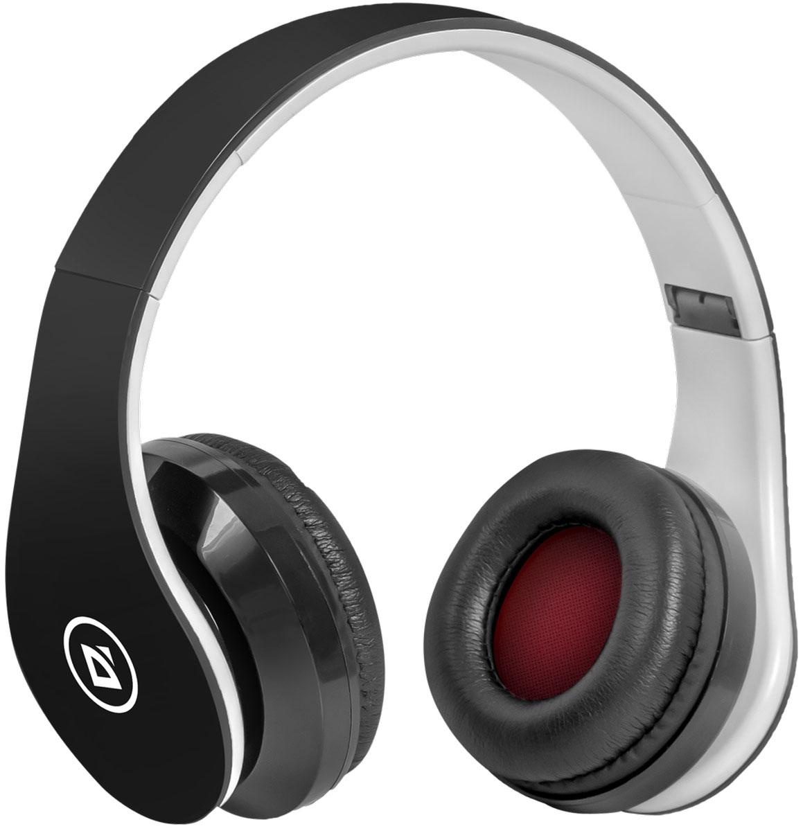 Беспроводная гарнитура Defender FreeMotion B550 черный, Bluetooth стоимость