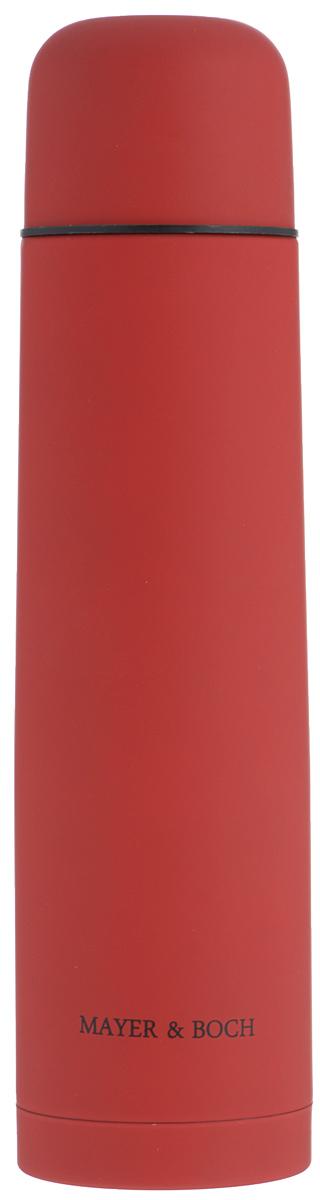 Термос Mayer & Boch, цвет: красный, 1л. 25880 термос 1л essentials