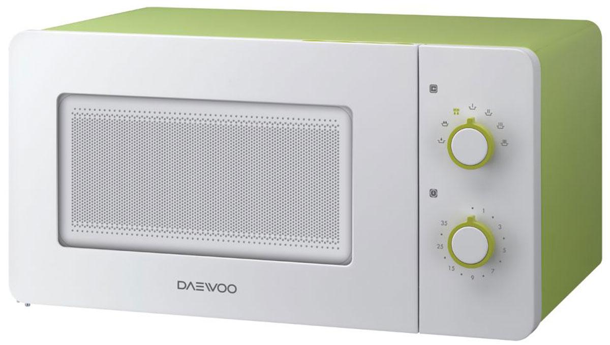 Daewoo KOR-5A17, White GreenСВЧ-печь Daewoo