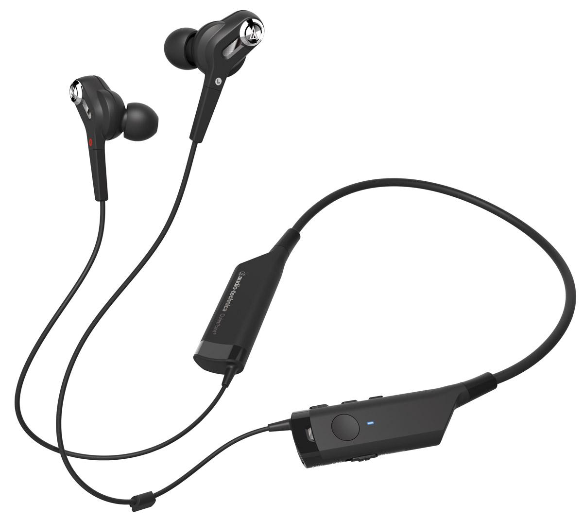 Беспроводные наушники Audio-Technica ATH-ANC40BT, черный