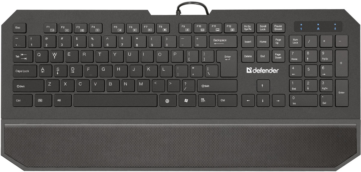 Клавиатура Defender Oscar SM-600 Pro RU, Black