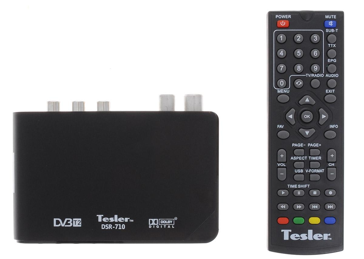 ТВ ресивер Tesler DSR-710 недорго, оригинальная цена