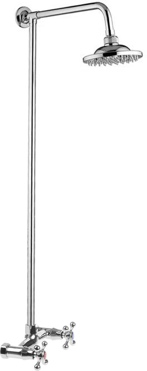 Фото - Смеситель для душа РМС, с верхней лейкой. SL80-003-1 смеситель для душа рмс sl77 белый sl77w 003