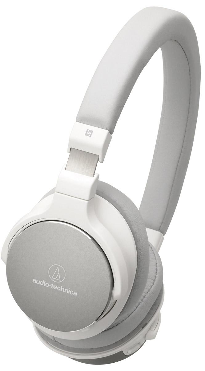 Беспроводные наушники Audio-Technica ATH-SR5BT, белый