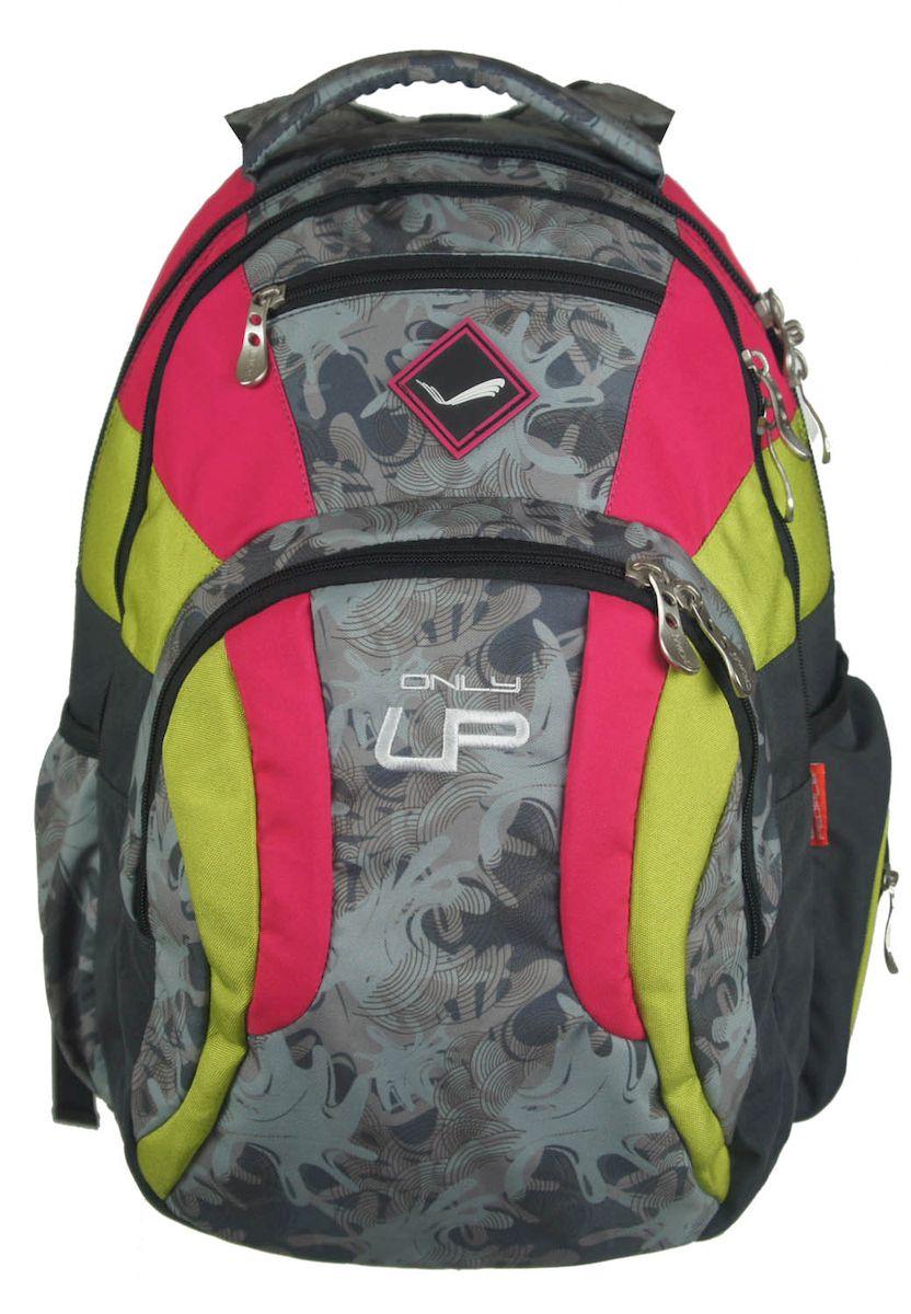 Рюкзак городской UFO people, цвет: черно-розовый. 21 л. 4777 цена и фото