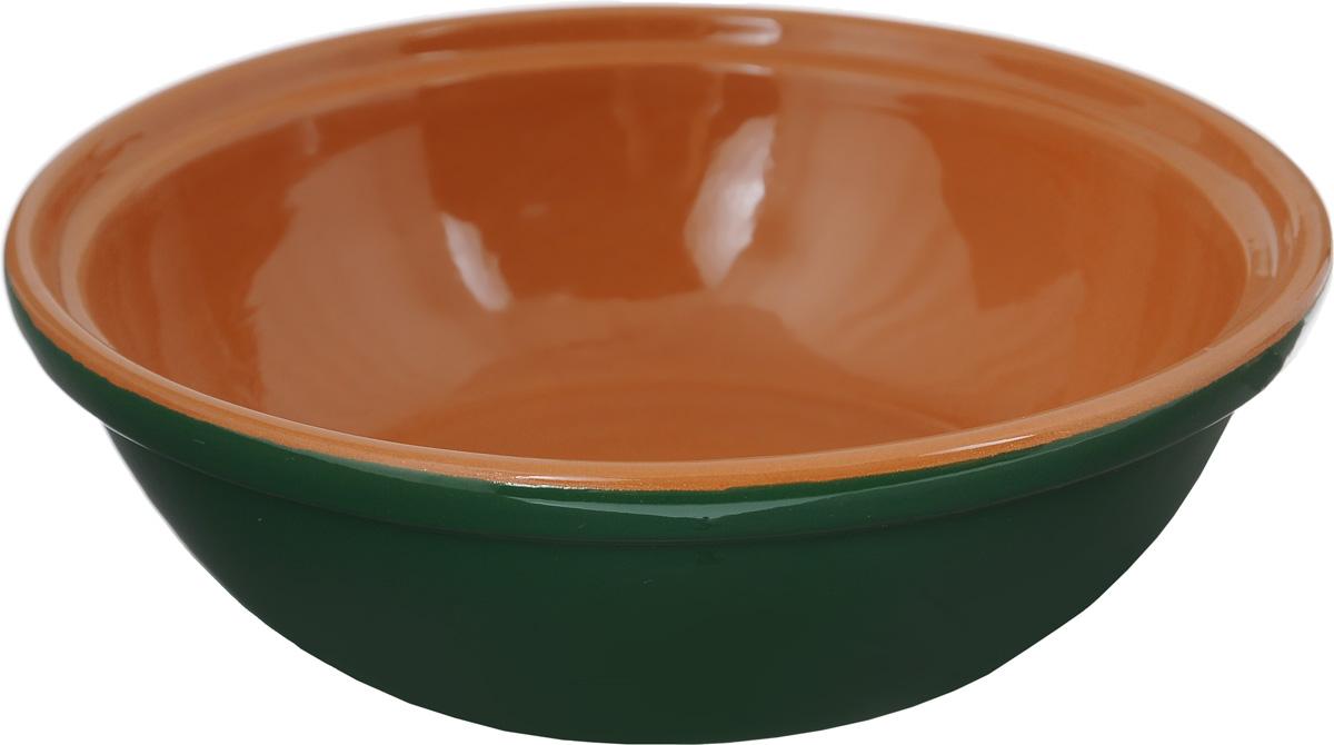 Фото - Салатник Борисовская керамика Модерн, цвет: зеленый, коричневый, 500 мл салатник борисовская керамика модерн цвет зеленый коричневый 500 мл