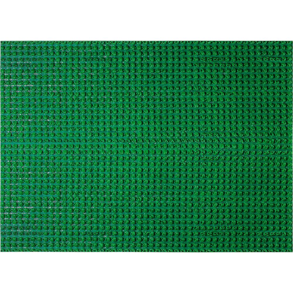 Коврик придверный Vortex Травка, противоскользящий, цвет: зеленый, 45 х 60 см коврик vortex травка темно коричневый 60х90см на противоскользящей основе