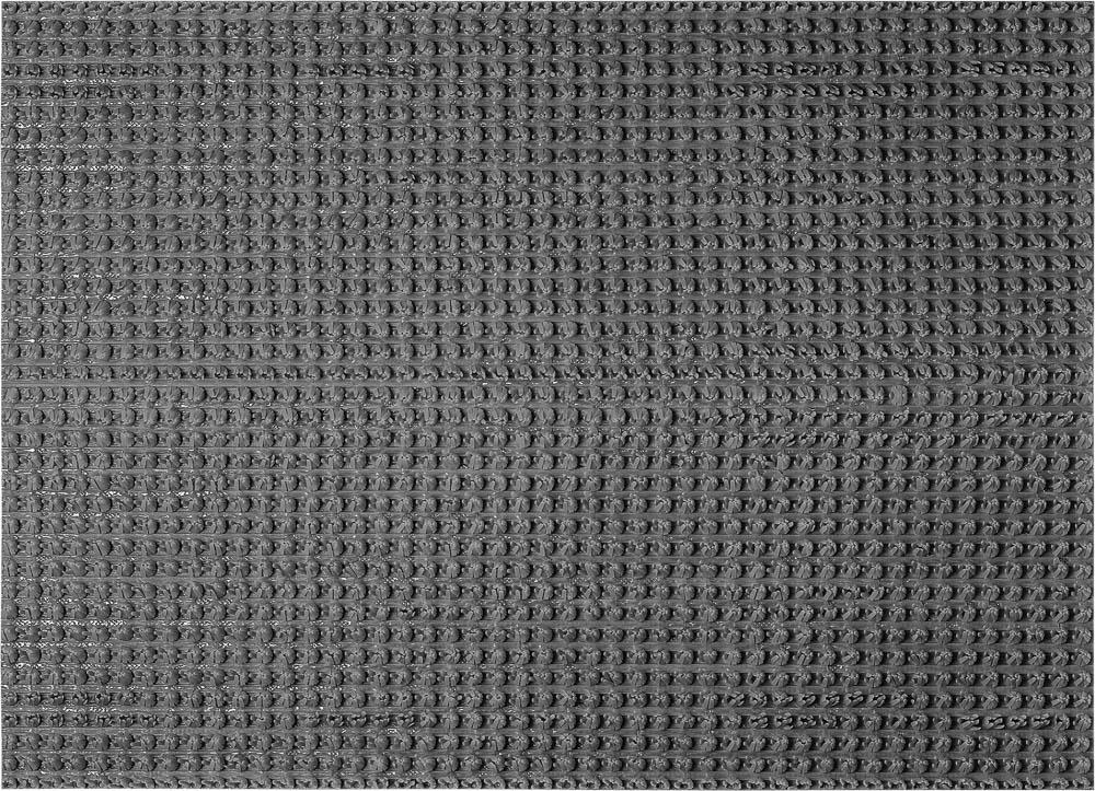 """Коврик придверный Vortex """"Травка"""", противоскользящий, цвет: серый, 45 х 60 см"""