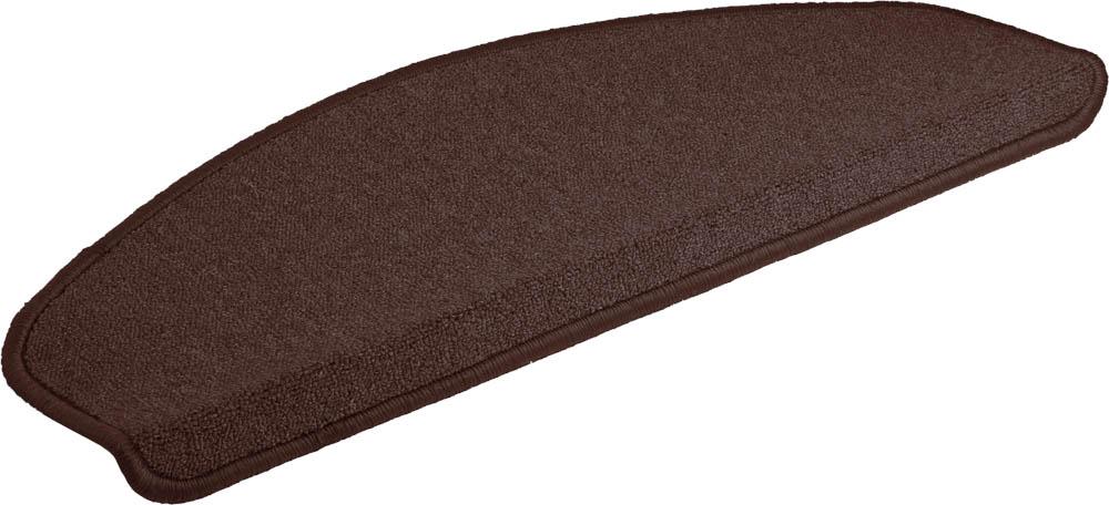 Коврик Vortex, на ступеньку, цвет: темно-коричневый, 25 х 65 см коврик vortex на ступеньку цвет коричневый 25 х 65 см