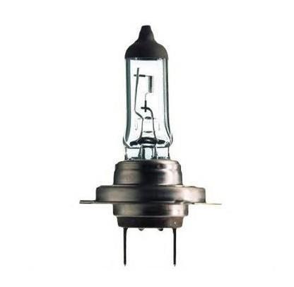 """Лампа автомобильная галогенная Philips """"Vision"""", для фар, цоколь H7 (PX26d), 12V, 55W. 12972PRC1"""
