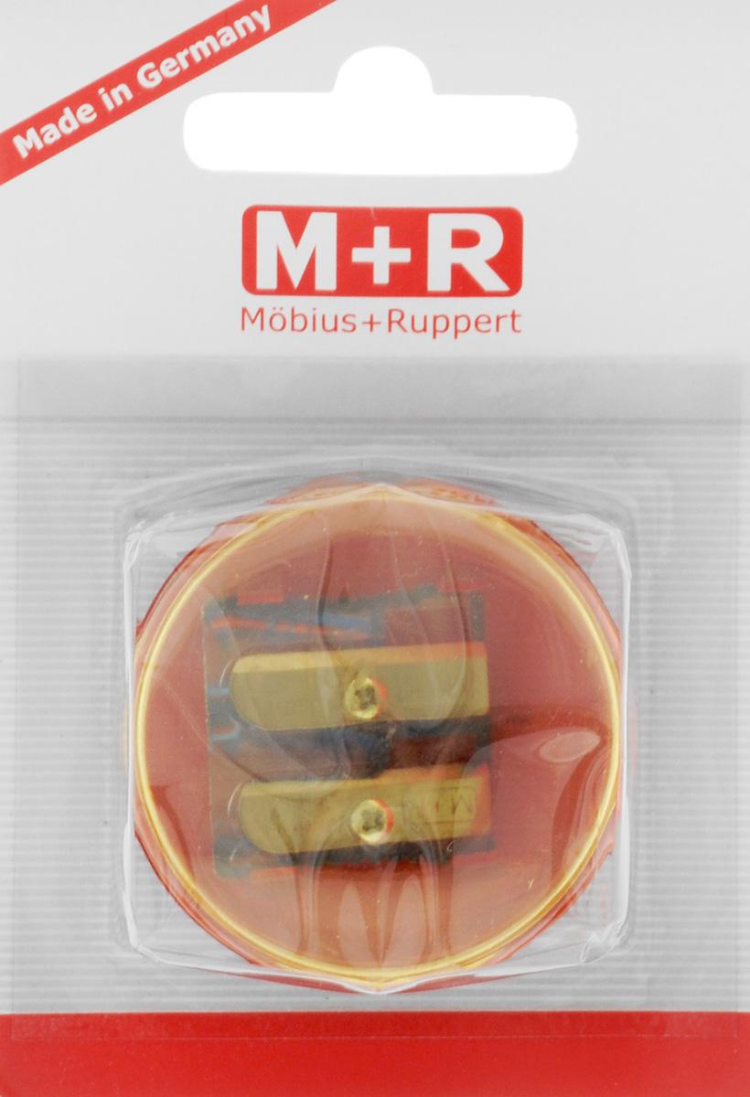 M+R Точилка Top Duo цвет желтый красный m r m r точилка металлическая