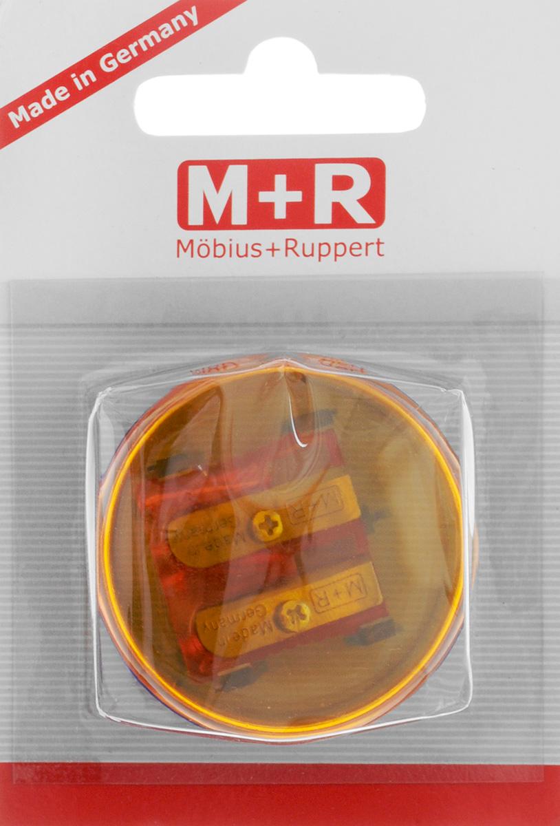 M+R Точилка Top Duo цвет оранжевый синий m r m r точилка металлическая