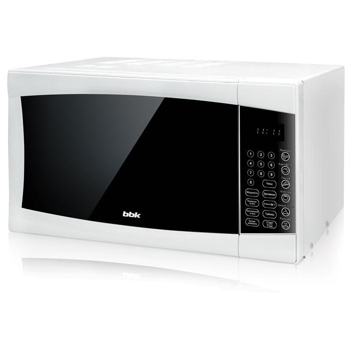BBK 23MWS-915S/W, White СВЧ-печь свч bbk bbk 20mwg 742t w g 700 вт белый
