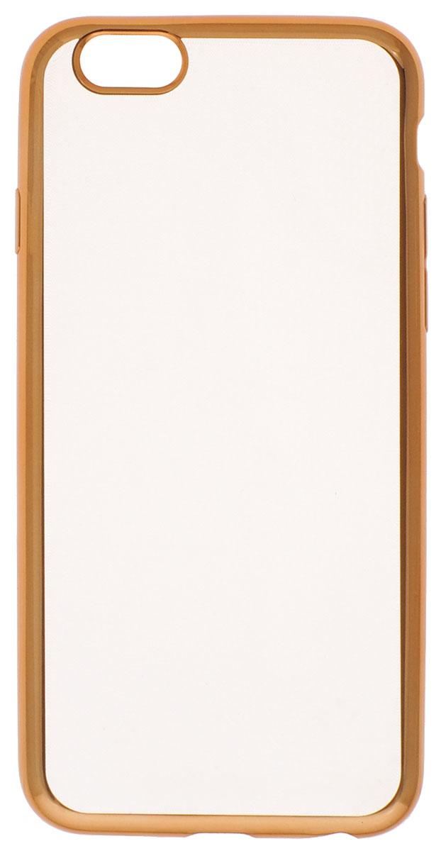 цена на Red Line iBox Blaze чехол для iPhone 6/6s, Gold
