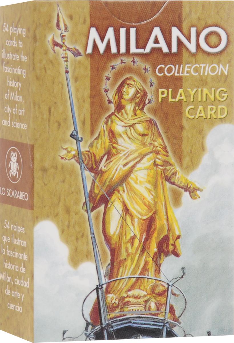 Карты игральные Lo Scarabeo Милан, 54 карты. PC47 lo 250304к