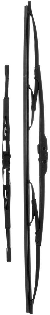 Щетка стеклоочистителя Bosch 553, каркасная, длина 55/34 см, 2 шт щетки стеклоочистителя bosch twin nkw 700mm 3 397 004 080