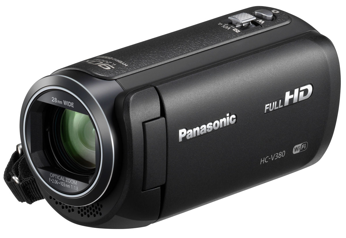 Видеокамера Panasonic HC-V380, Black