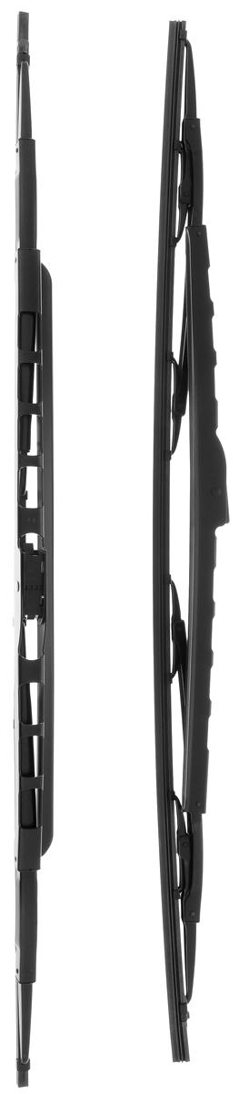 Щетка стеклоочистителя Bosch 046S, каркасная, со спойлером, длина 68 см, 2 шт щетки стеклоочистителя bosch twin nkw 700mm 3 397 004 080