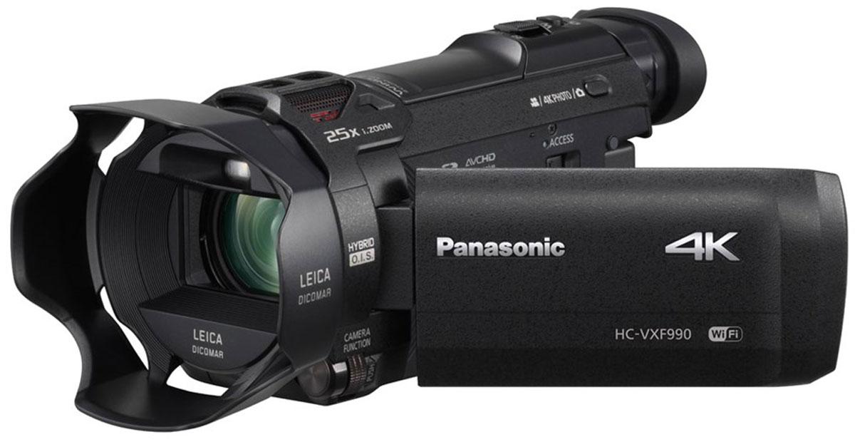 Видеокамера Panasonic HC-VXF990 4K, Black