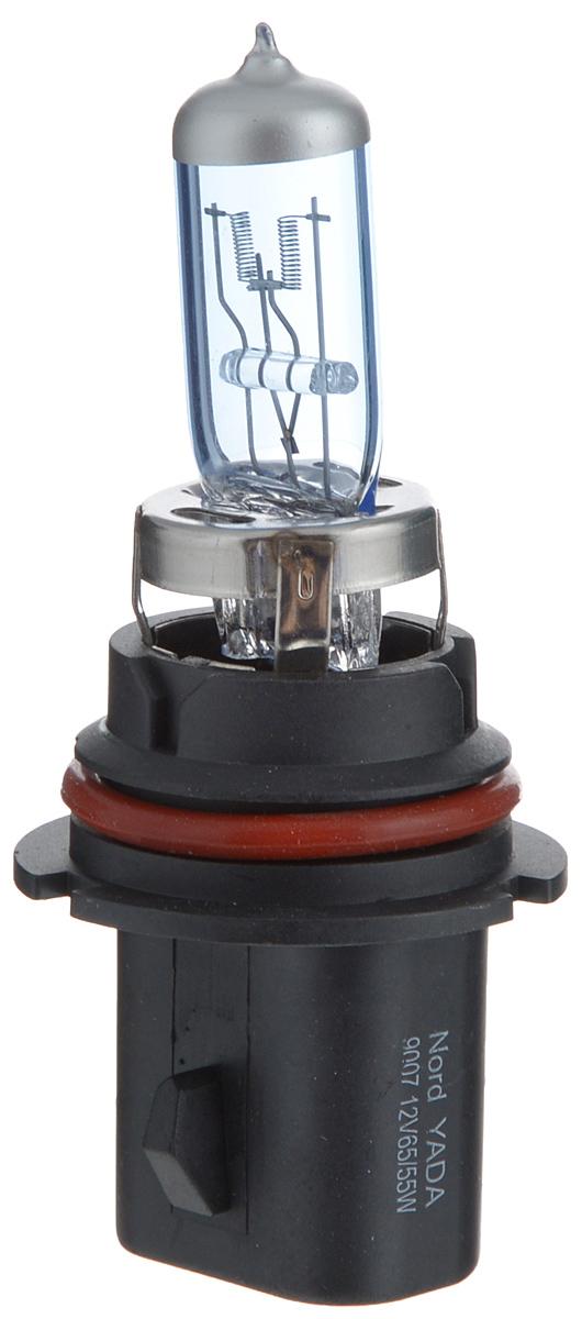 Лампа автомобильная Nord YADA 65/55 Вт, Галогенная лампа автомобильная галогенная nord yada super white цоколь h27 886 12v 50w