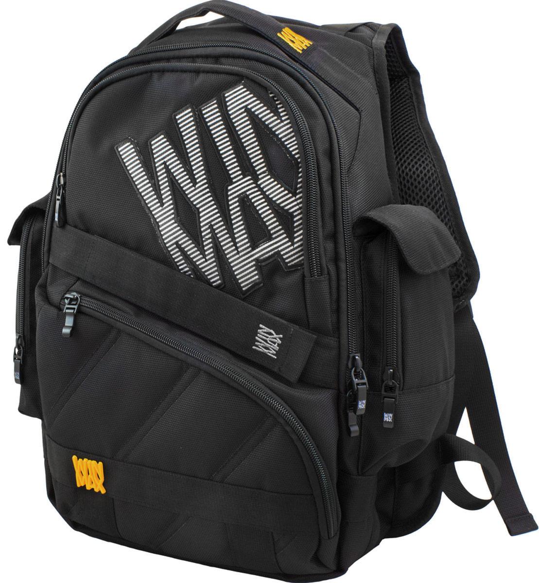 WinMax Рюкзак детский цвет черный желтый K-508