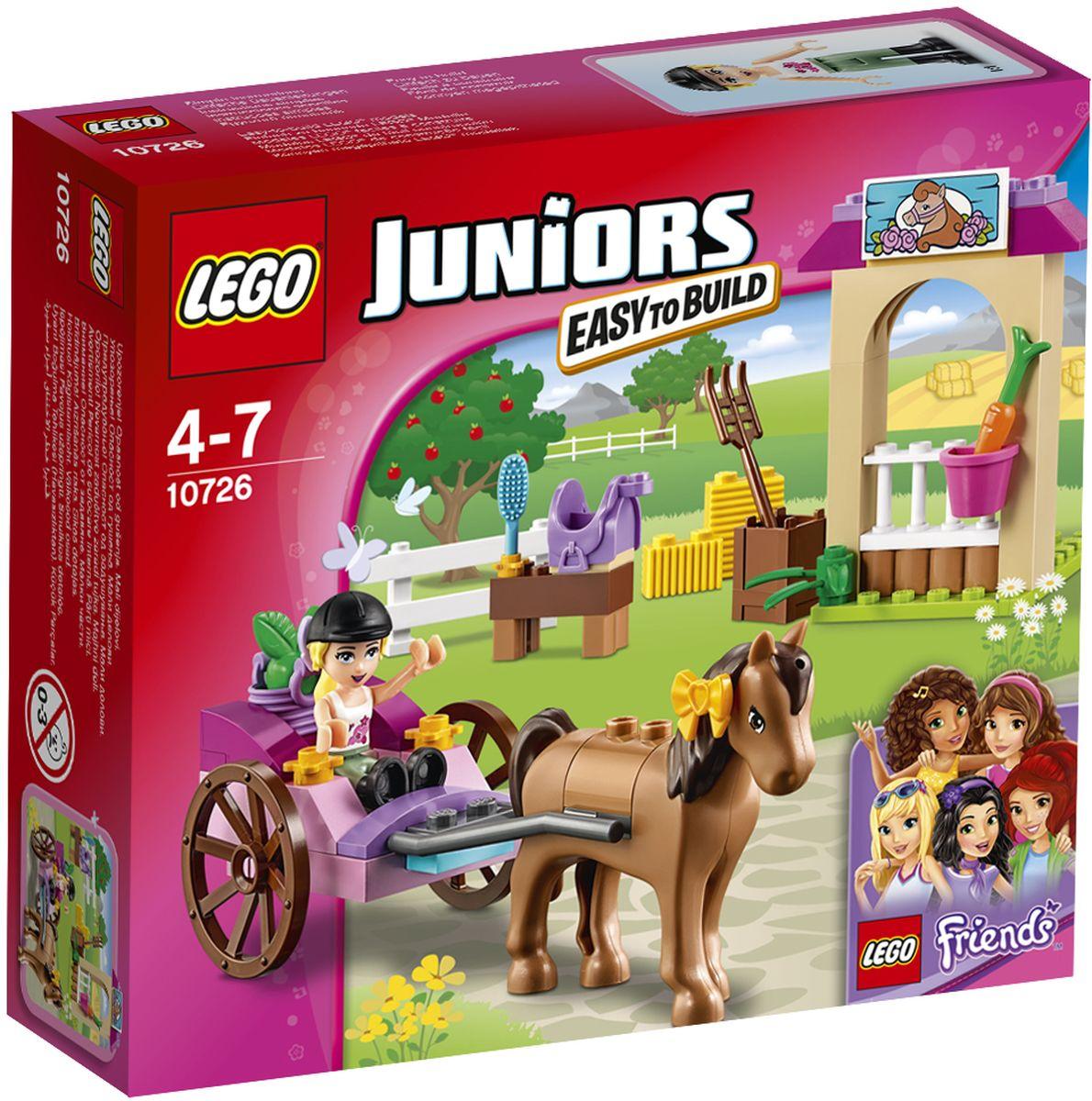 LEGO Juniors Конструктор Карета Стефани 10726 lego juniors 10726 конструктор лего джуниорс карета стефани
