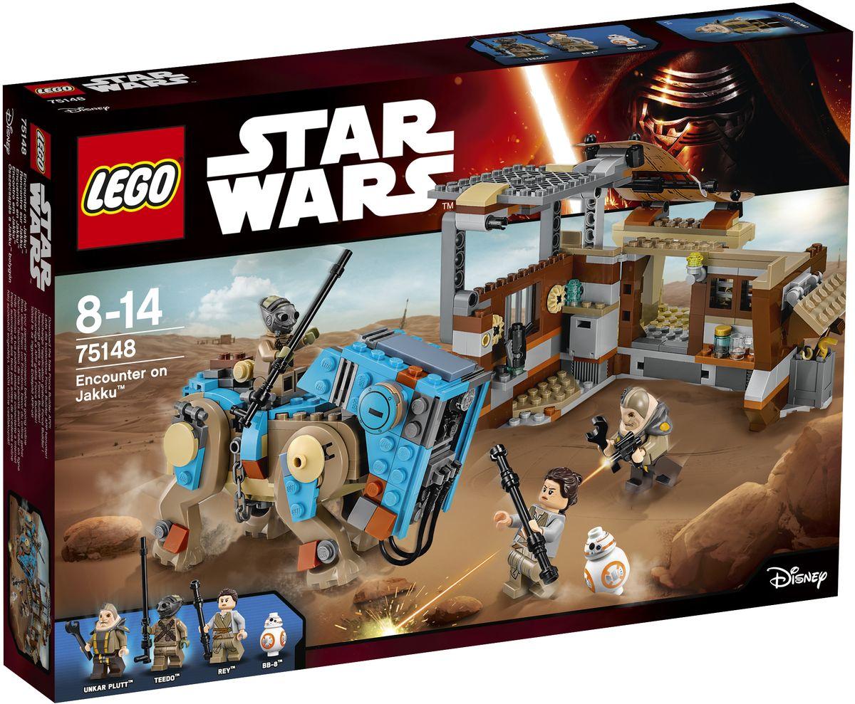 LEGO Star Wars Конструктор Столкновение на Джакку 75148