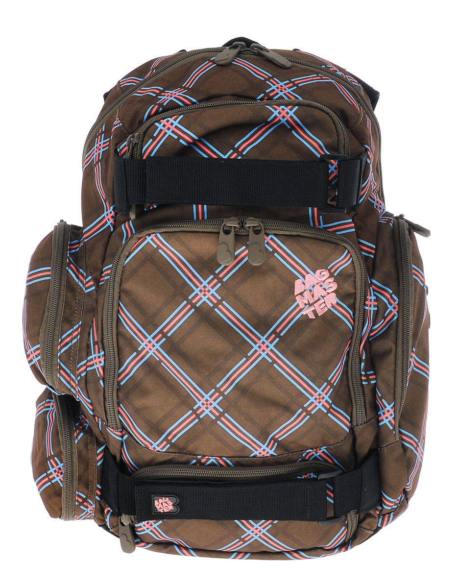 BagMaster Рюкзак детский цвет коричневый