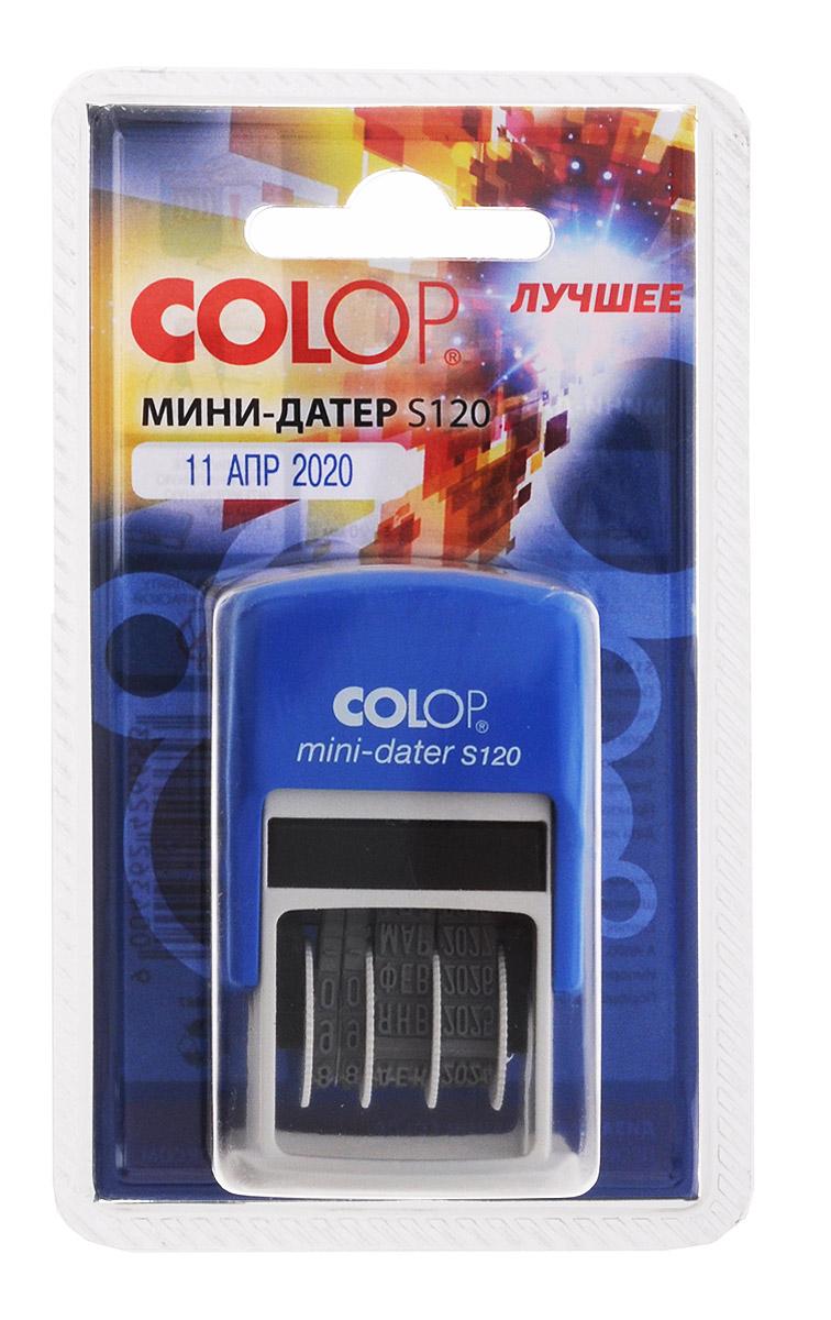 ColopМини-датер S120 месяц прописью Colop