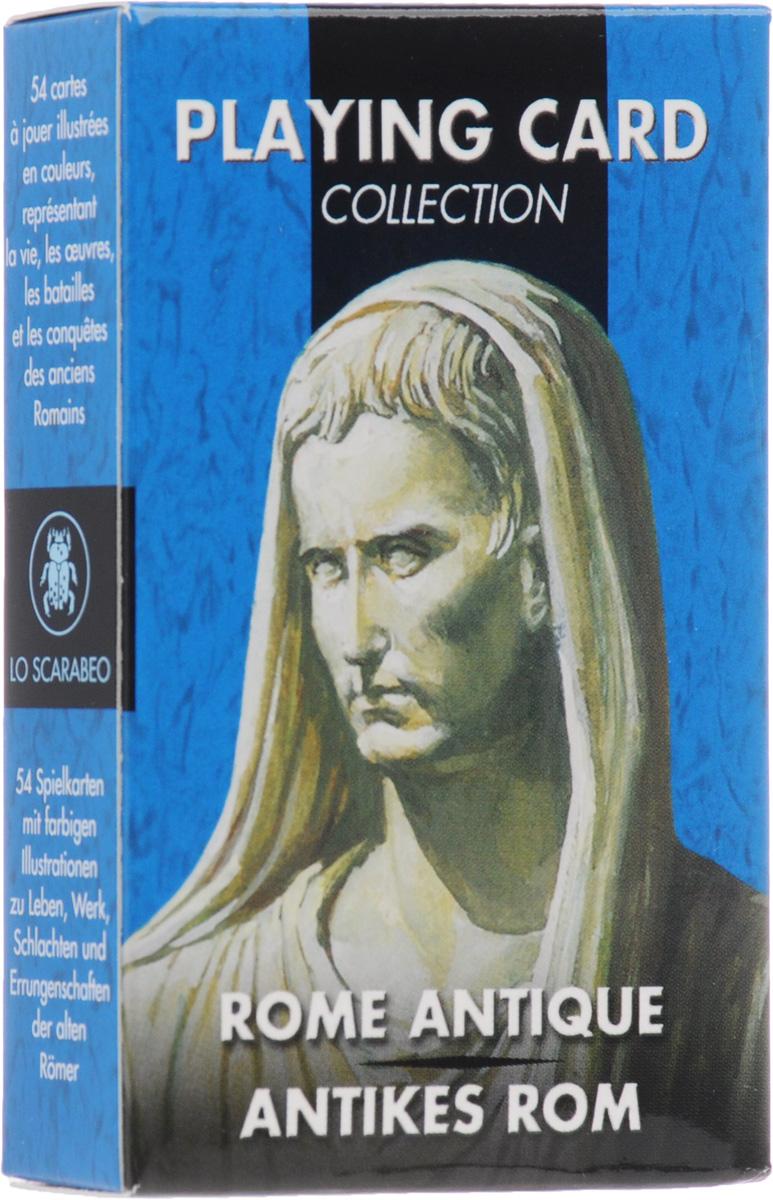Карты игральные Lo Scarabeo Античный Рим, 54 карты. РС42 нормативные правовые акты уголовный кодекс республики молдова