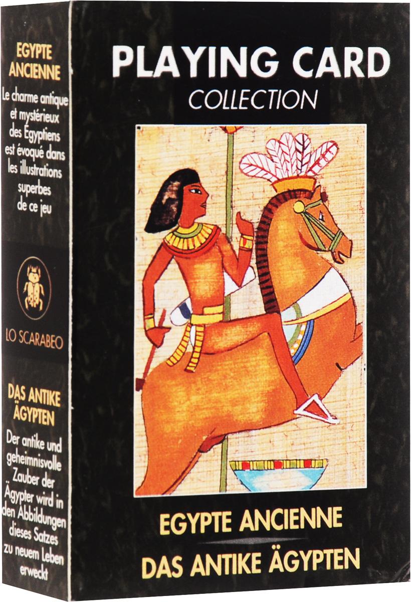 Карты игральные Lo Scarabeo Древний Египет, 54 карты. PC10 атлас чудес света выдающиеся архитектурные сооружения и памятники всех времен и народов