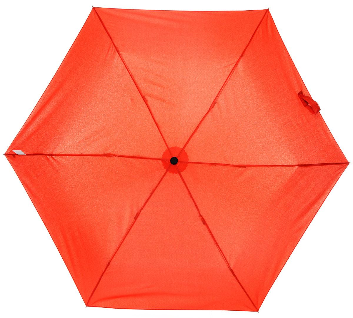 Зонт детский Эврика Перец, механика, 2 сложения, цвет: красный. 96885