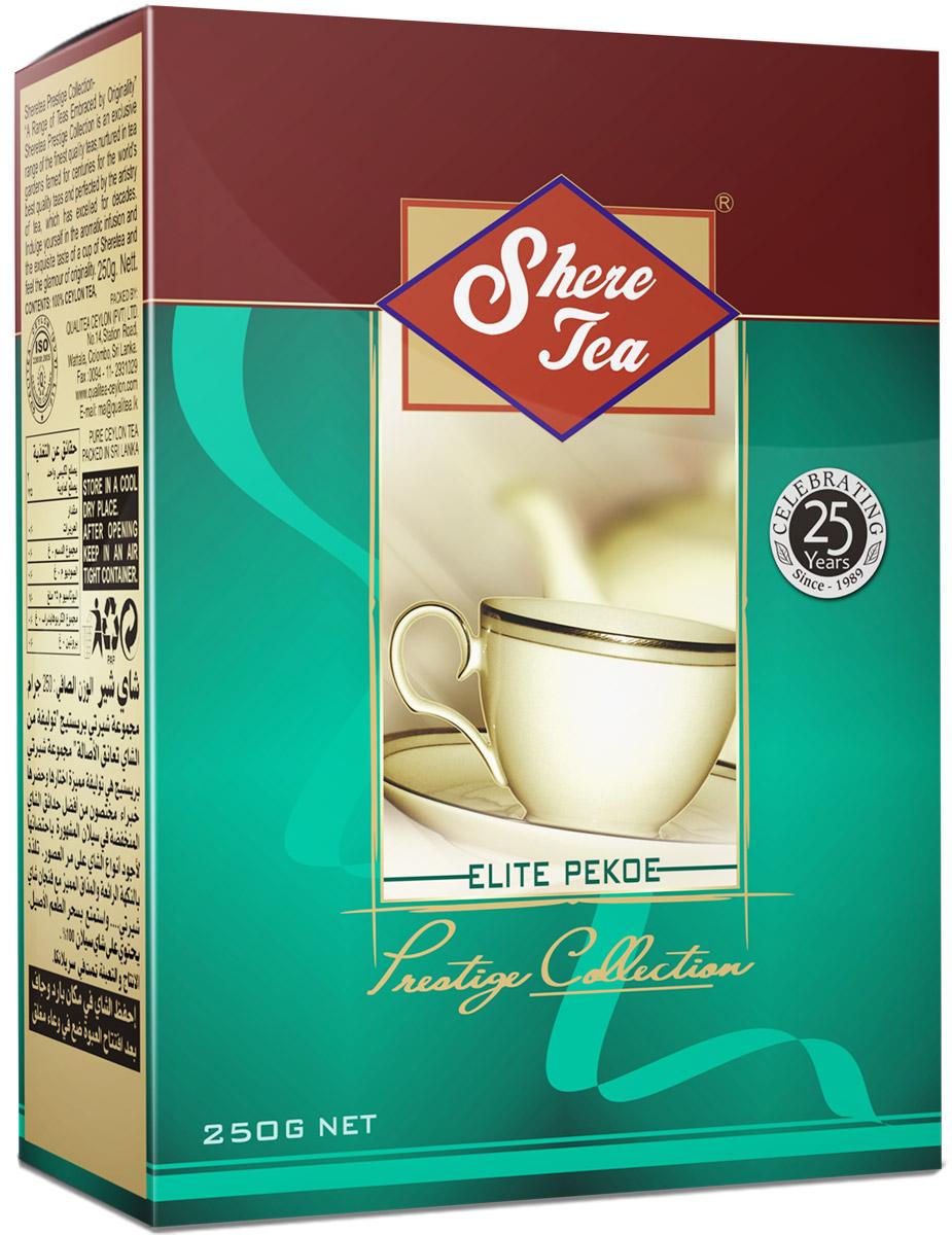 Shere Tea Престижная коллекция Pekoe чай черный листовой, 250 г shere tea престижная коллекция pekoe чай черный листовой 250 г