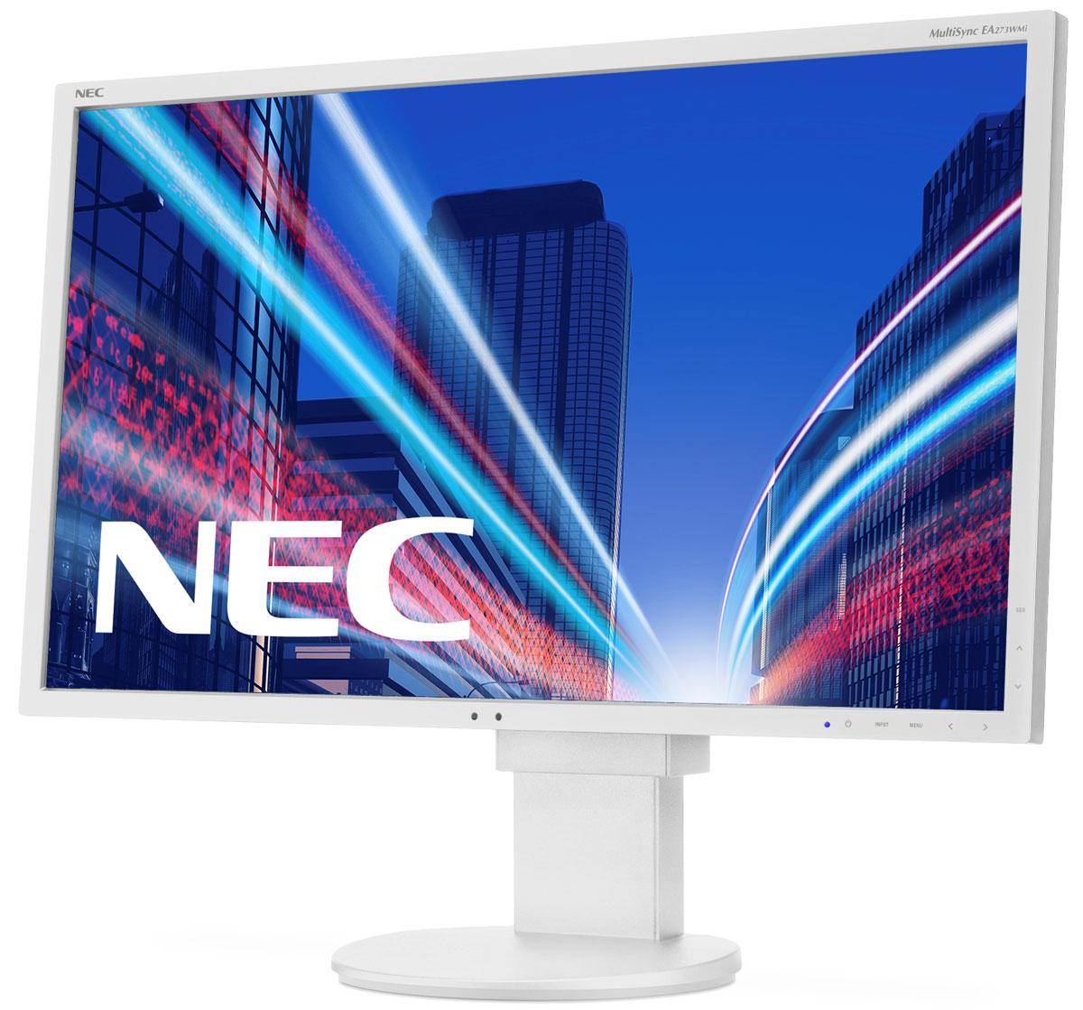 Монитор NEC EA273WMi, White